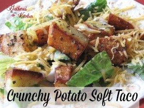 crunchy potato soft taco