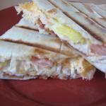 Chicken, Bacon, Avocado Grilled Wraps