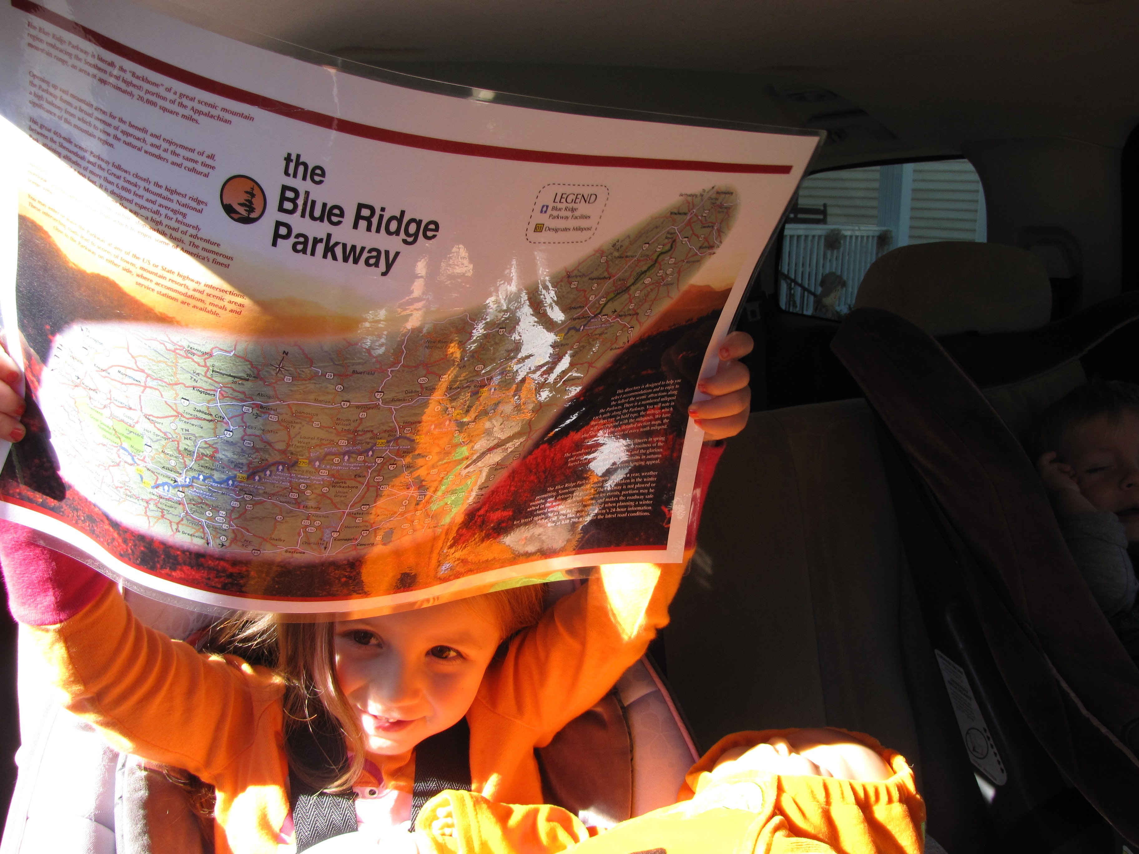 Blue Ridge Parkway Trip – Day 1: Driving