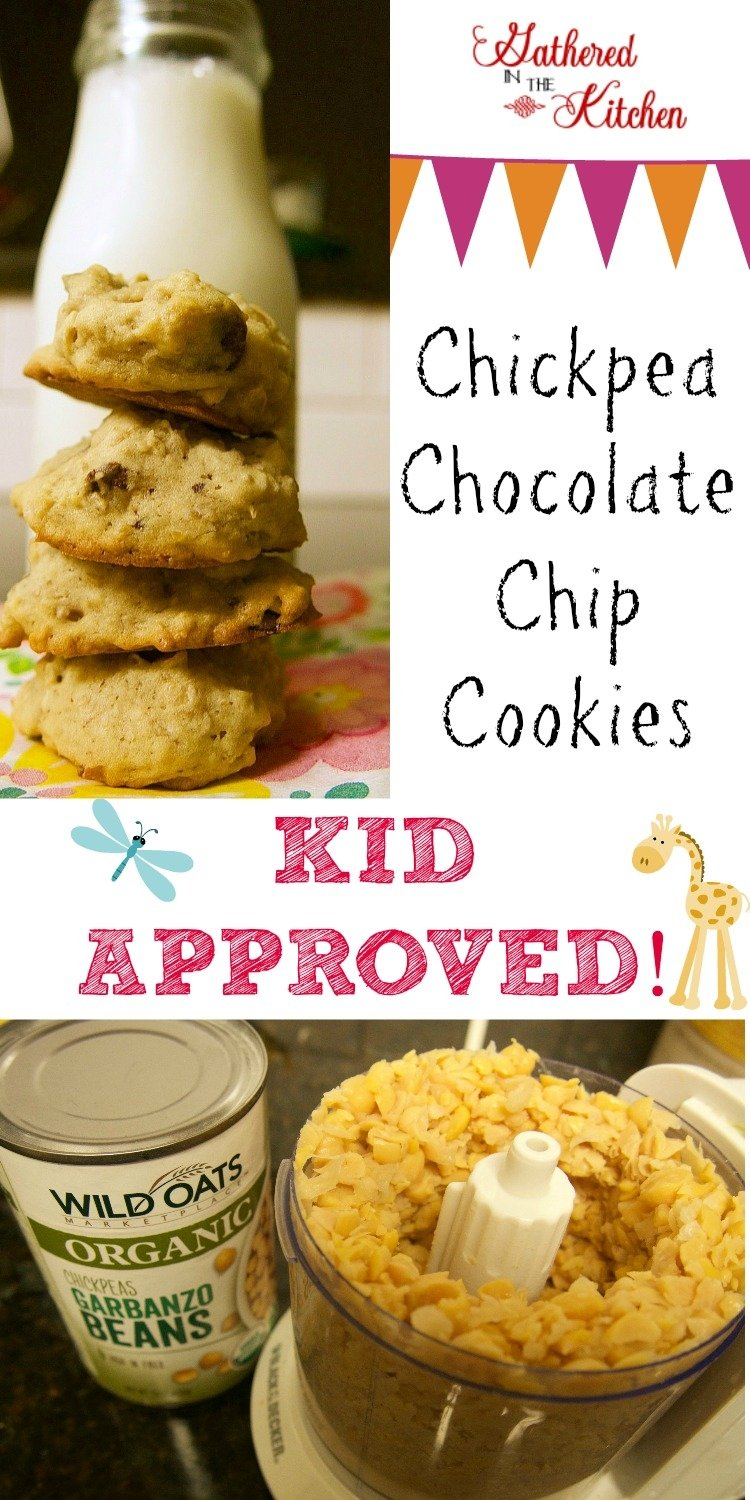 Chickpea Chocolate Chip Cookies 6