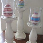candlestick redo with eggs