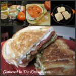 Grilled Pesto Tomato Mozzarella Sandwiches