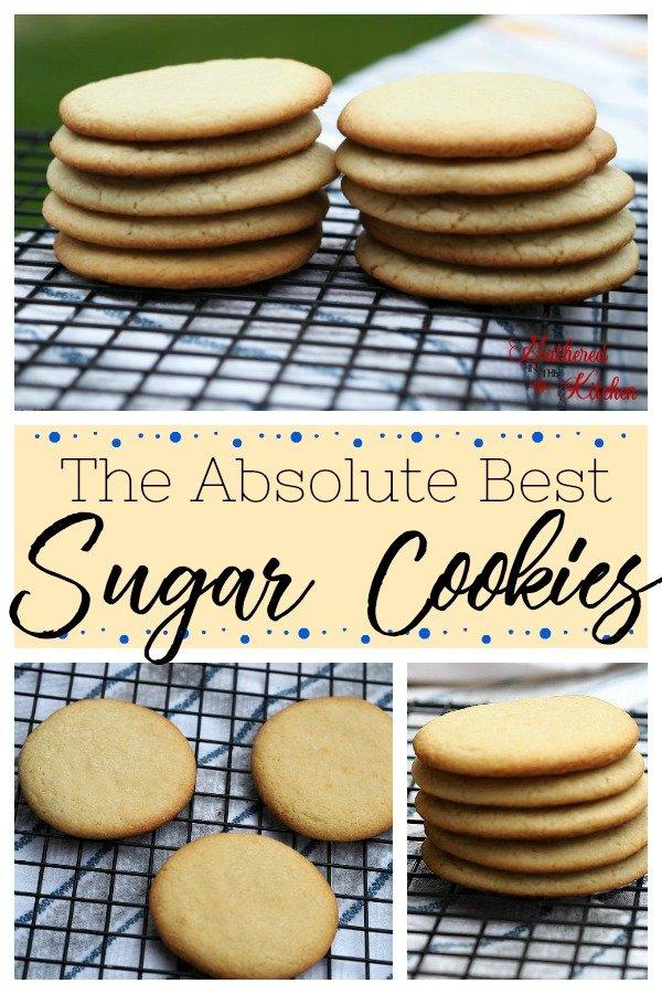 the absolute best sugar cookies