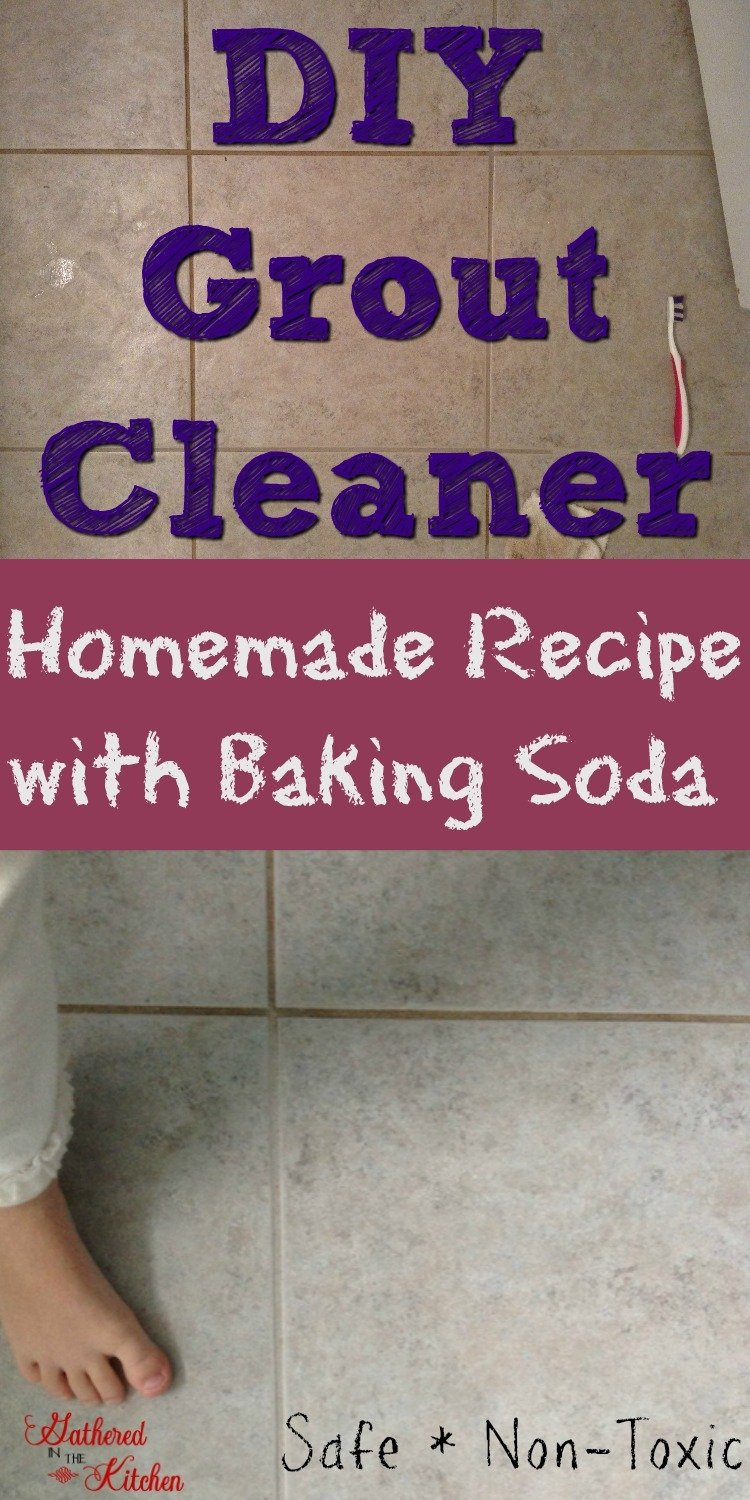 DIY Grout Cleaner: Homemade Recipe with Baking Soda