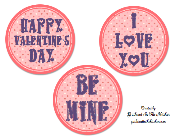 image relating to Valentine Stickers Printable called Cost-free Valentines Working day Printable - Do-it-yourself - Accumulated Within The Kitchen area