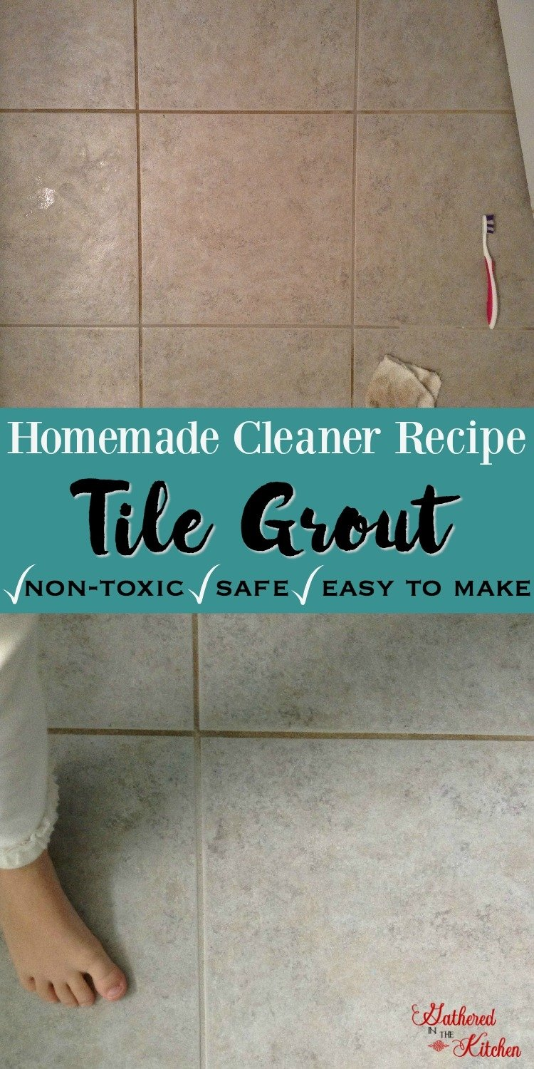 DIY Grout Cleaner: Homemade Recipe with