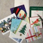 DIY – Repurposed Christmas Cards to Thank You Cards