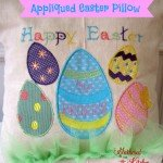 Appliqued Easter Pillow