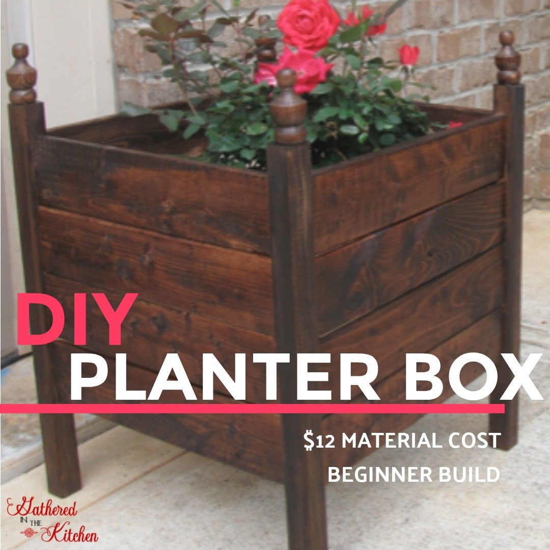 DIY PLANTER BOX $12
