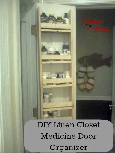 How To Build A Linen Closet Door