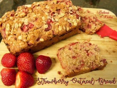Strawberry Oatmeal Bread