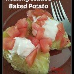 Healthy Loaded Baked Potato