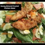 Honey Almond Crusted Chicken Salad