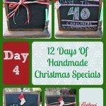 12 Days Of Handmade Christmas Specials – Day 4: Chalkboard Advent Calendars