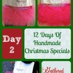 12 Days Of Handmade Christmas Specials: Day 2 – Personalized TuTu Bags
