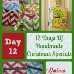 12 Days Of Handmade Christmas Specials – Day 12: Zippered Wristlet Clutches
