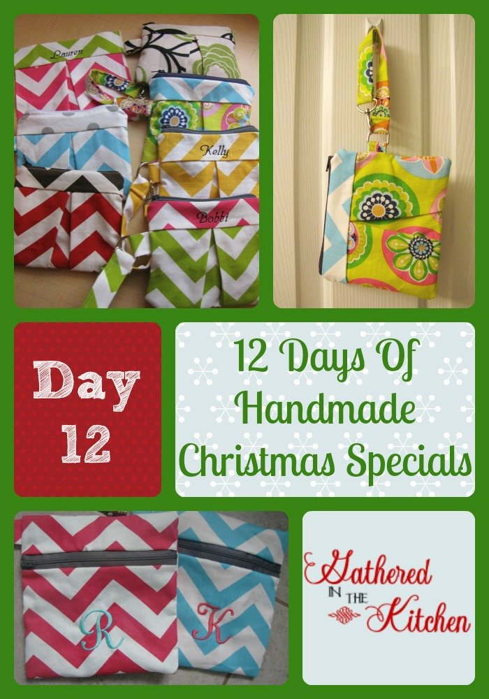12 Days Of Handmade Christmas Specials Day 12 Zippered