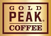 gold peek coffee logo