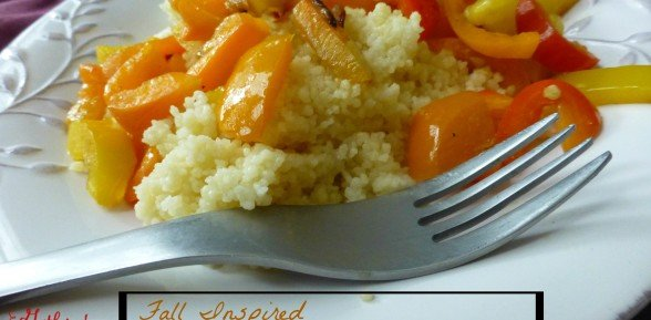 Fall Inspired Couscous & Roasted Peppers