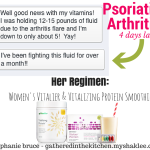Psoriatic Arthritis Testimony: Fluid Weight Loss