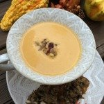Pumpkin Soup Topped with Sausage, Cranberries & Apples with Mushroom, Sausage Bruschetta – LongHorn Steakhouse Challenge