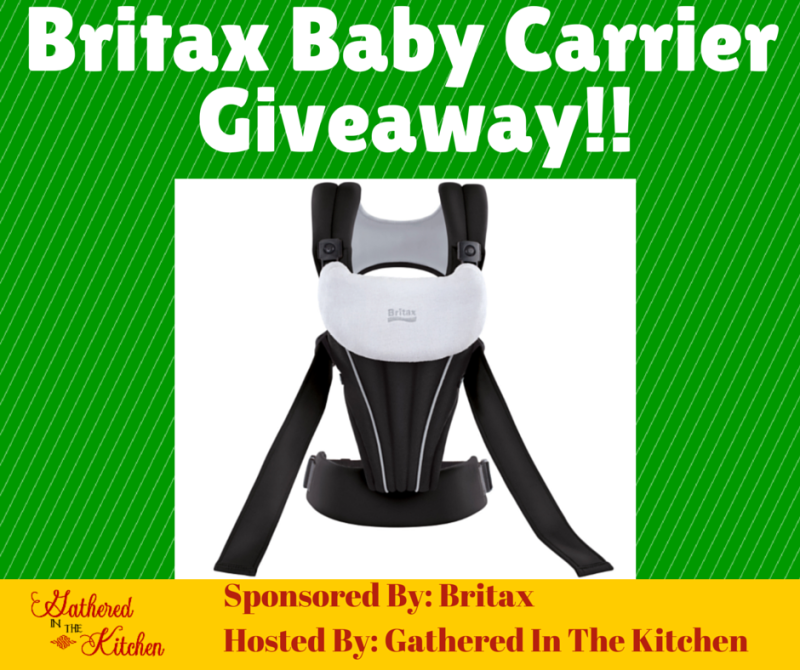 Britax Baby Carrier Giveaway