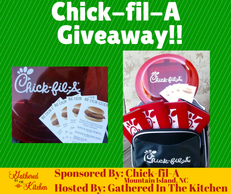 Chick-fil-A Giveaway