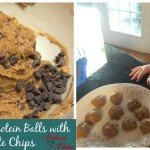 Peanut Butter Protein Balls with Chocolate Chips