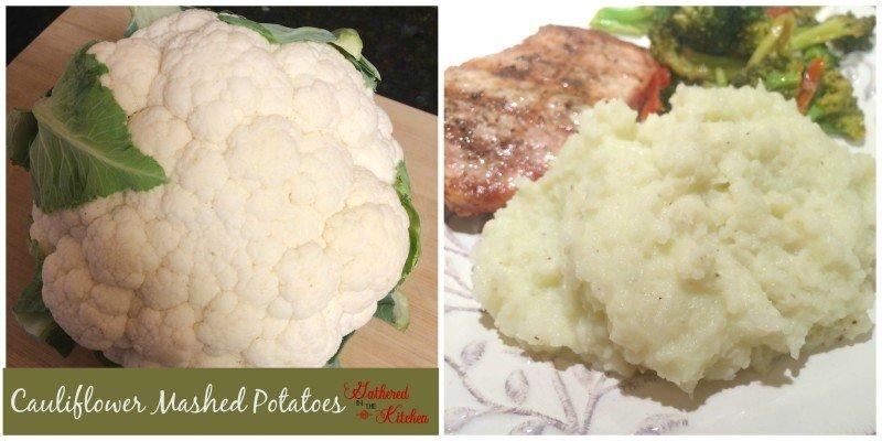 Cauliflower Mashed Potato