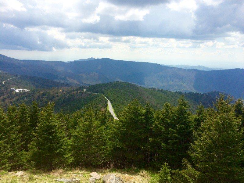 Mount Mitchell State Park, NC, Blue Ridge Parkway Milepost 349.9