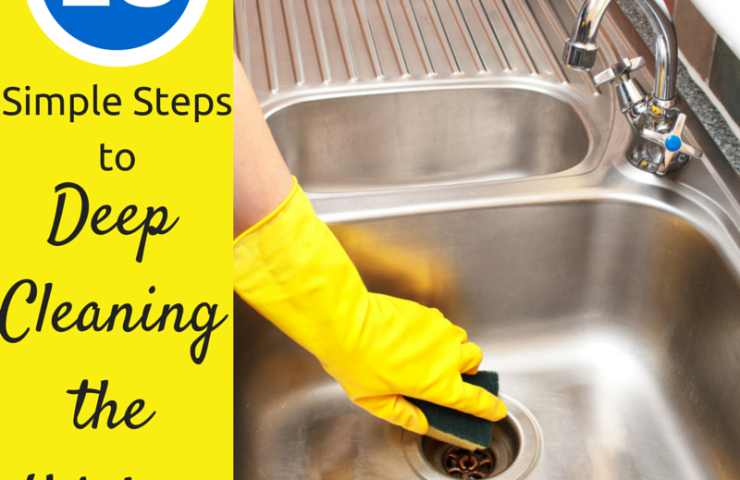 10 Simple Steps to Deep Cleaning the Kitchen