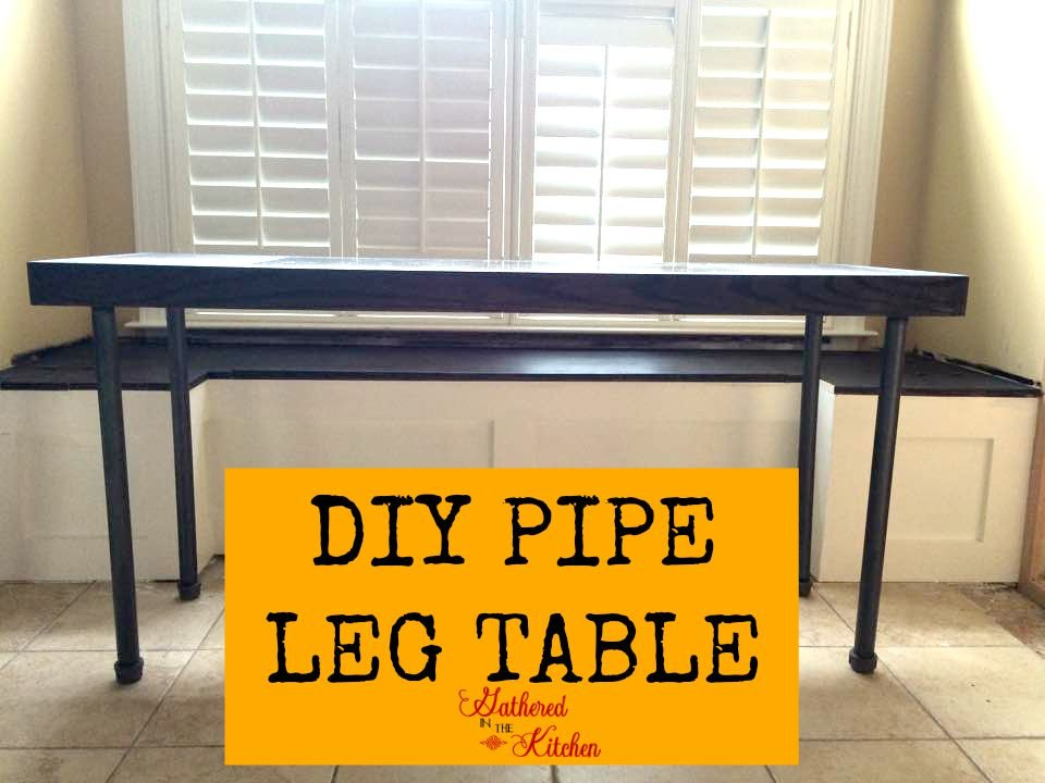 Diy Pipe Leg Table Step By Step Instructions