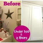 Laundry Room Makeover for Under $50