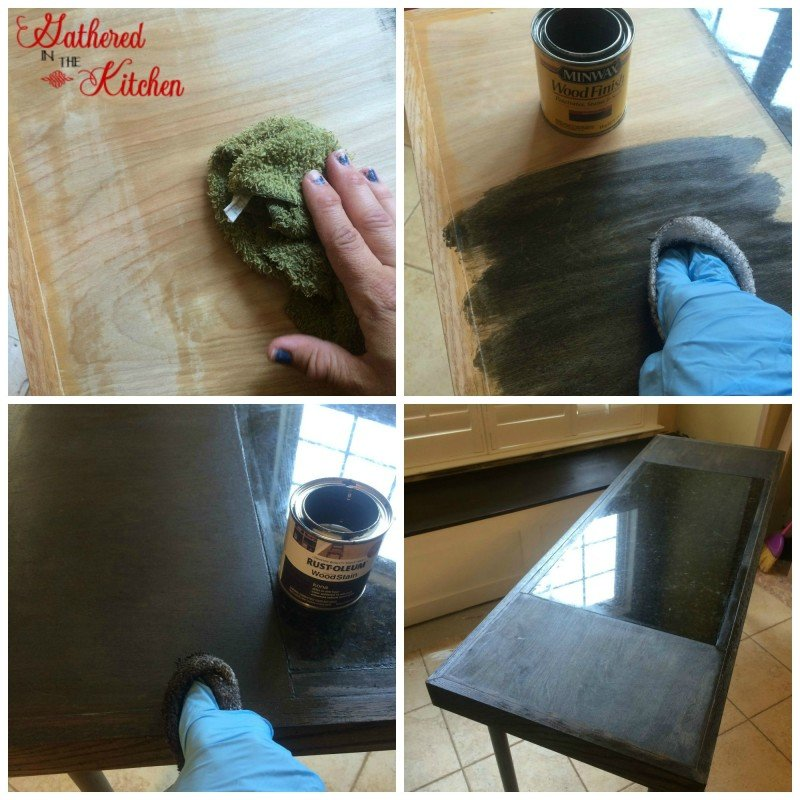 DIY Pipe Leg Table