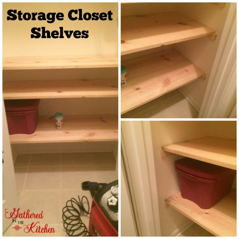 Coat Closet Shelves