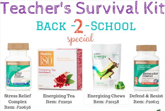 Teacher's Survival Kit - back to school