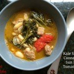 Kale Sausage Cannellini & Sun Dried Tomatoes Soup