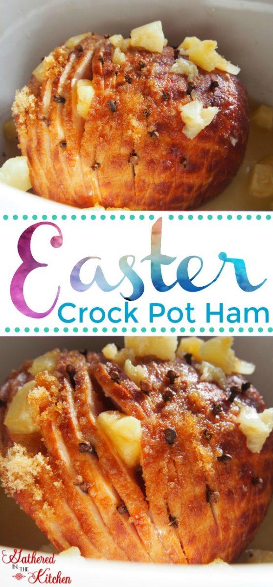 Easter Crock Pot Ham
