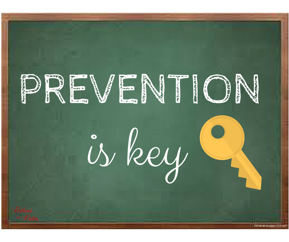 PREVENTION is key image