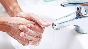 washing hands image