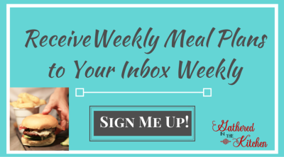 weekly meal plan sign up