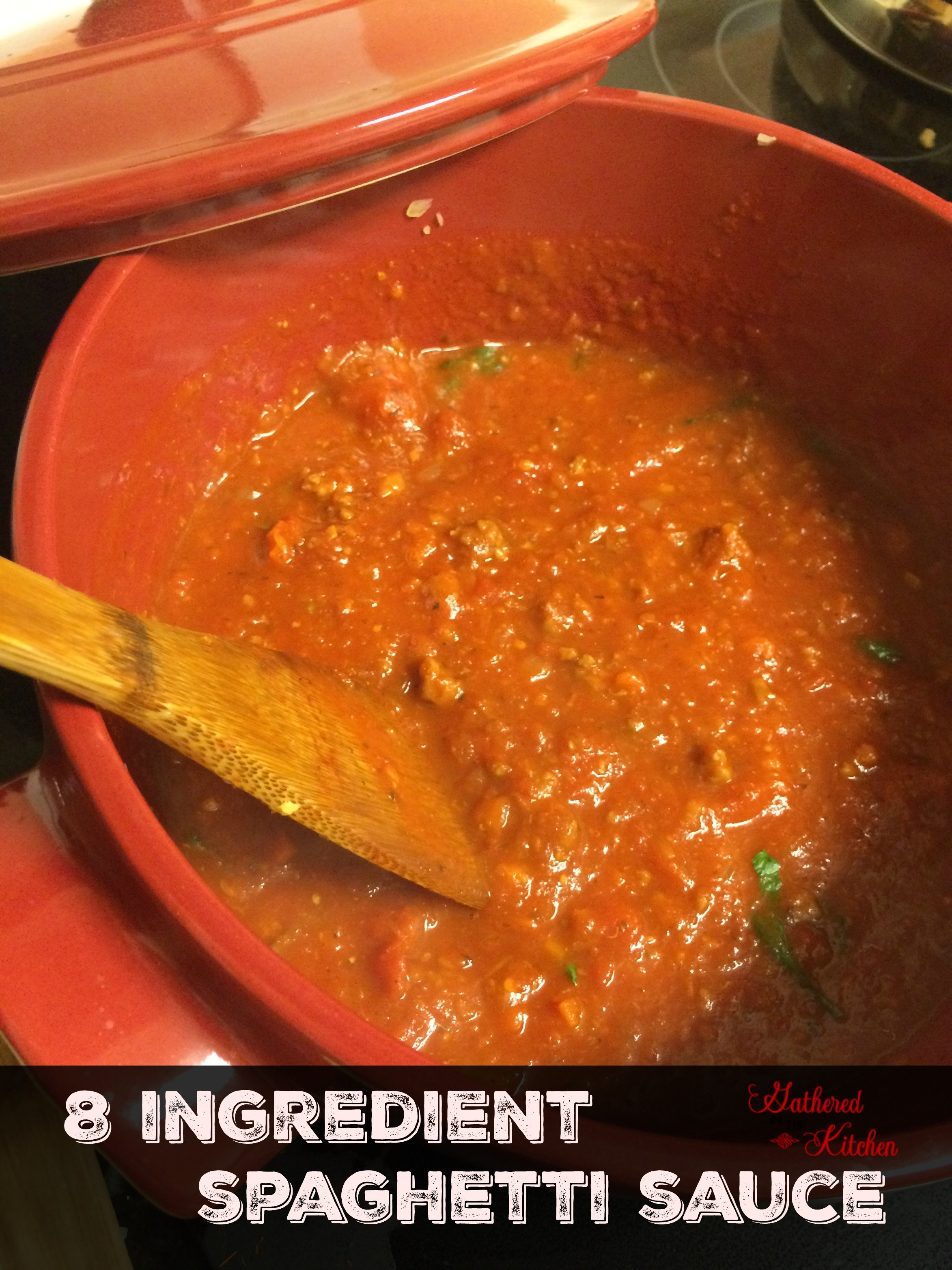 8 ingredient spaghetti sauce