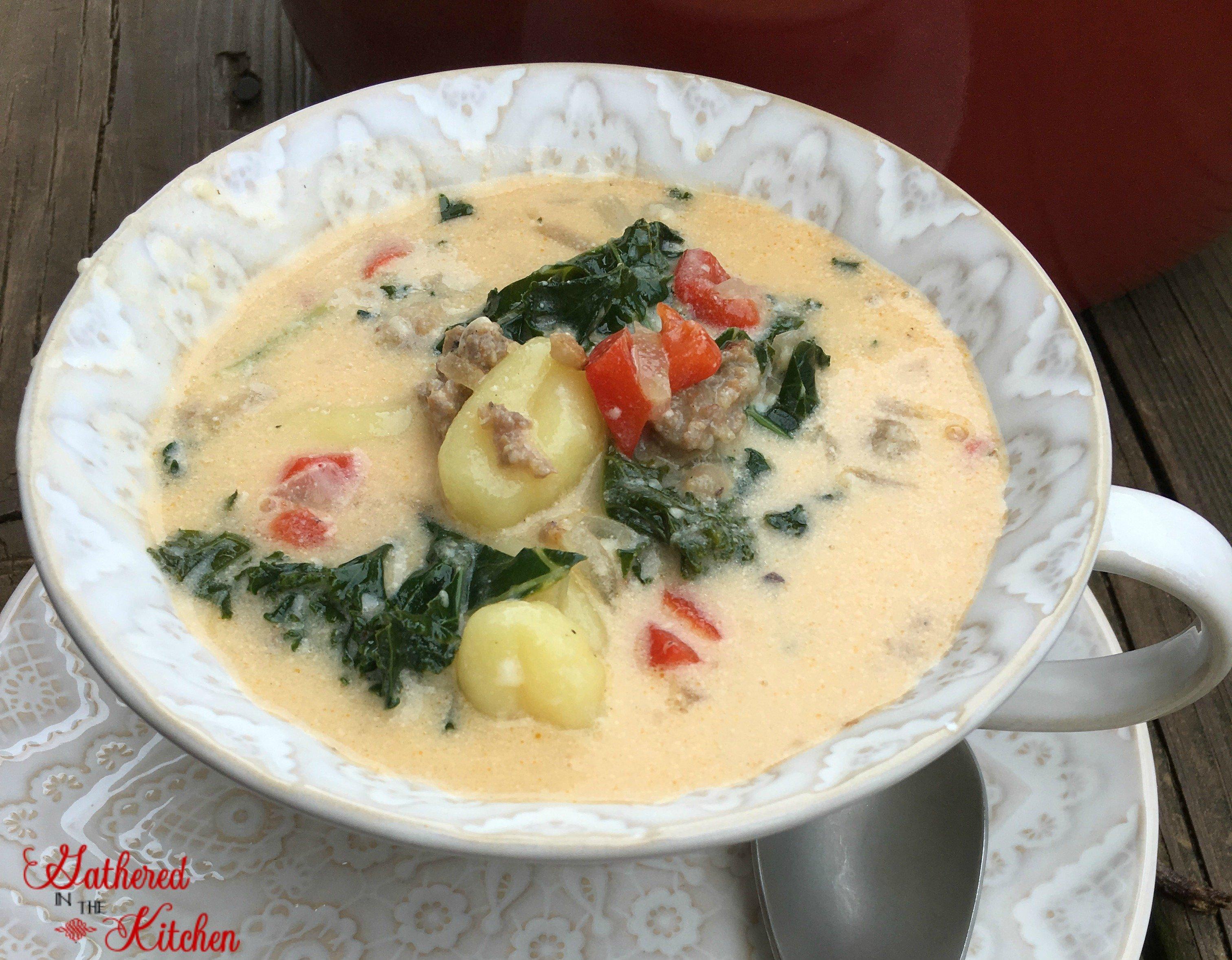 7 ingredient zuppa toscana 1