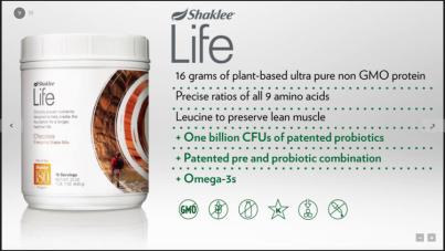 shaklee life shake info