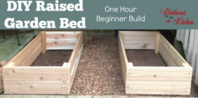 DIY Raised Garden Bed: Beginner Level One Hour Build