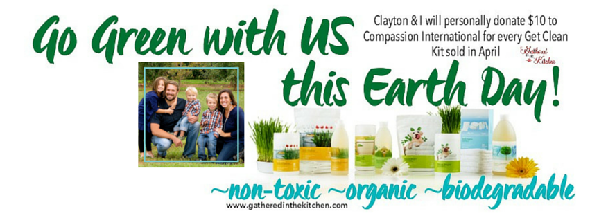 earth day Facebook cover with picture