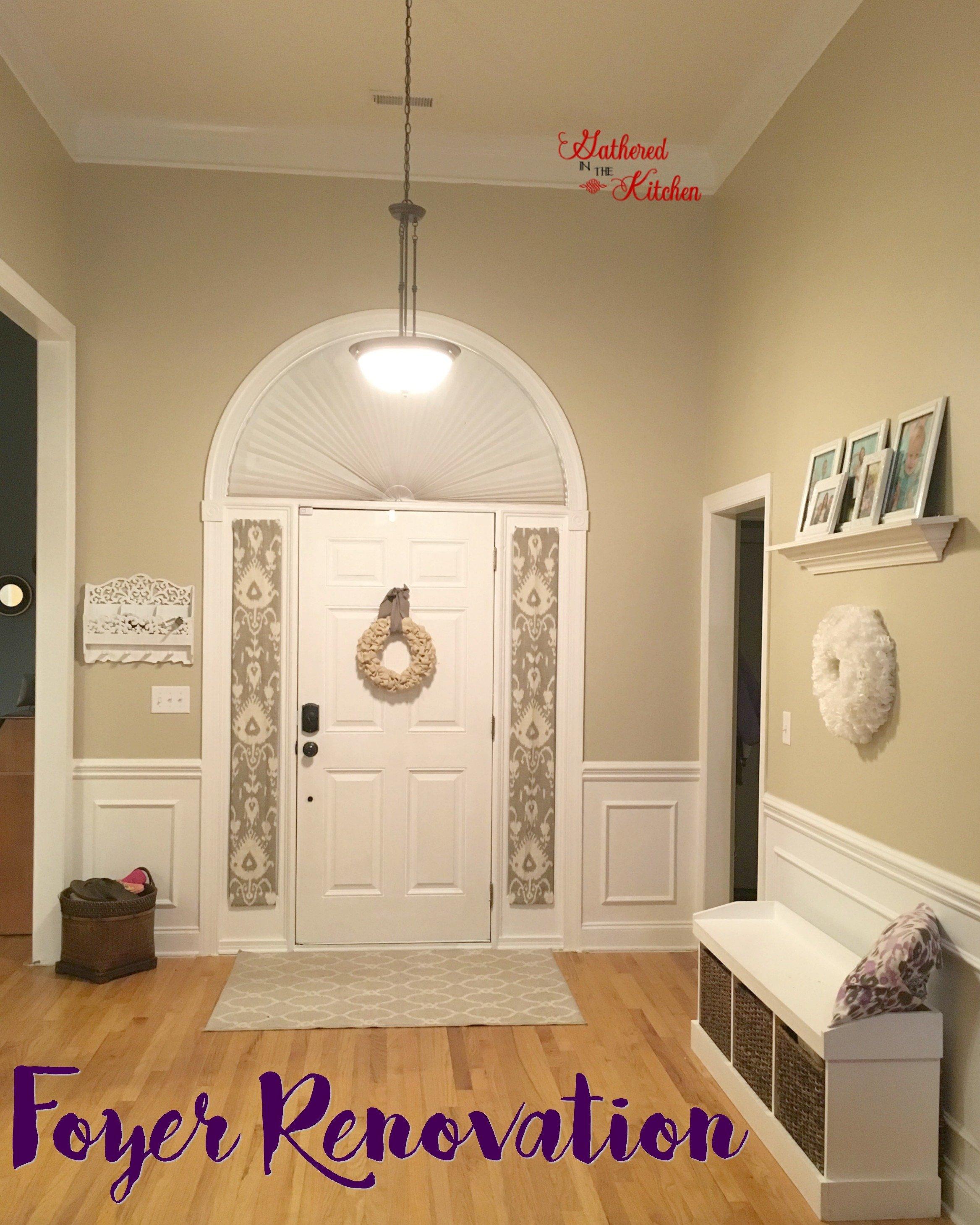 foyer renovation 1