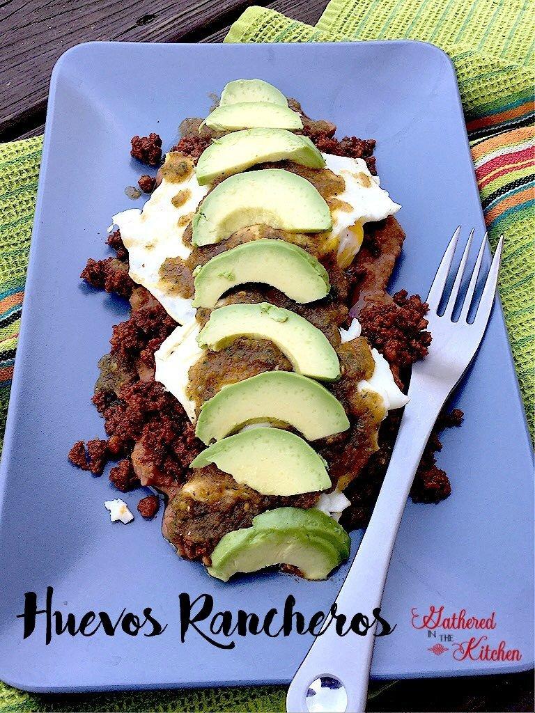 huevos rancheros - slow carb meal! #weightloss #healthyeating
