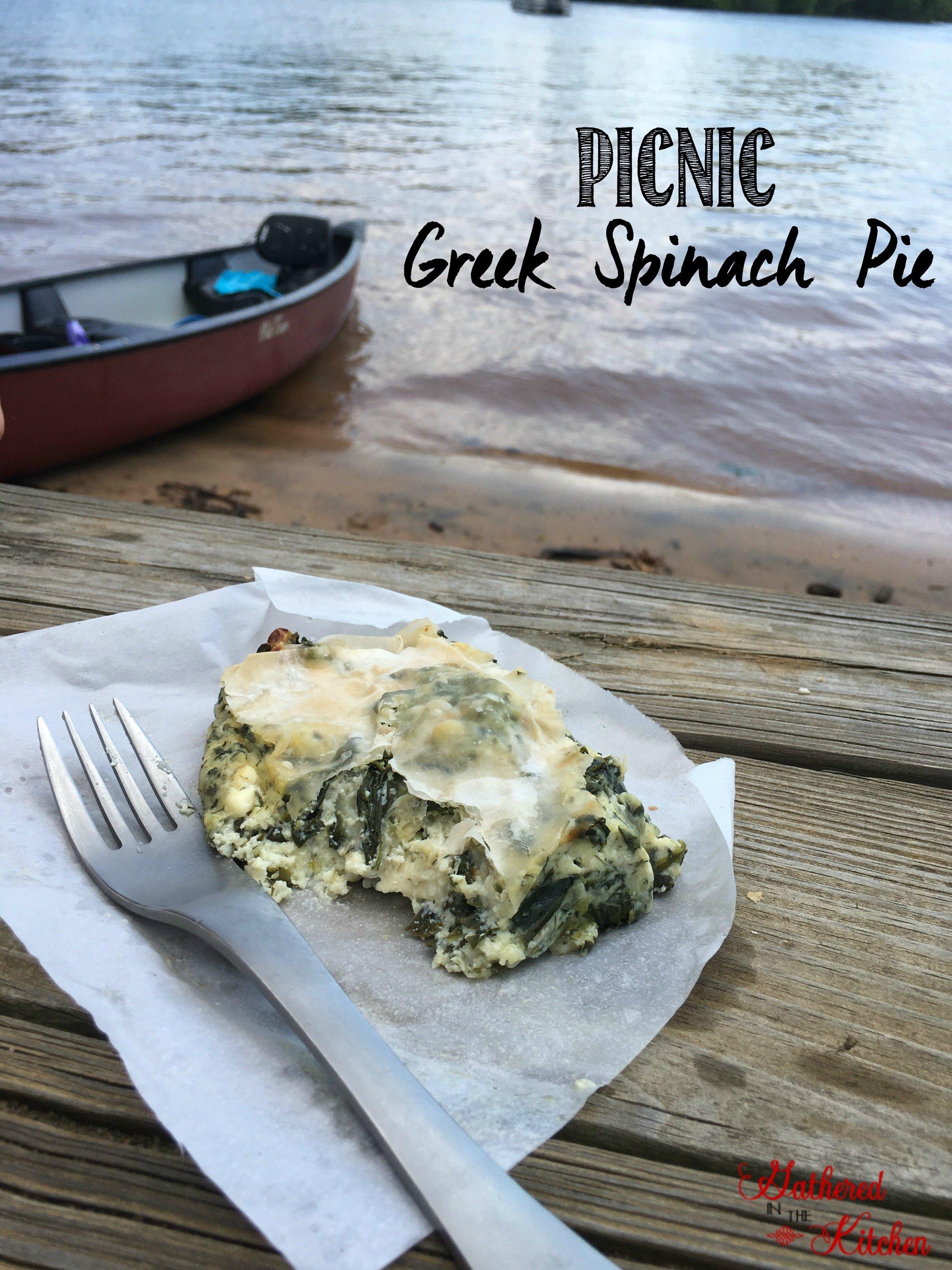 picnic greek spinach pie