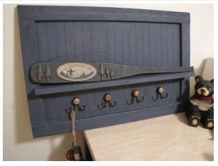 diy shelf hook board